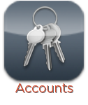 Accounts (keyring) icon